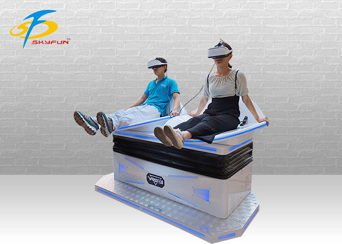 Exciting Double Player 9D VR Simulator Virtual Reality Slide With VR Glasses